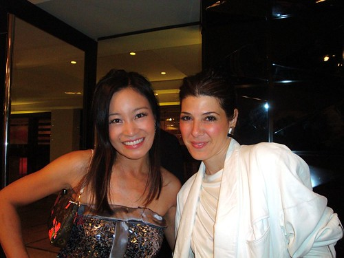 Jennifer Su with Marisa Tomei