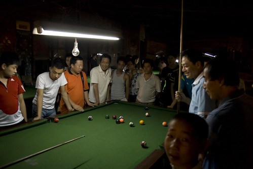 Billiards is a social game (by niklausberger)