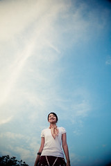 the sky is the limit :D ([eman]) Tags: blue portrait sky people clouds wide korea portraiture 5d canon5d ilsan   canoneos5d canonef24105mmf4lisusm wenning 5dclassic