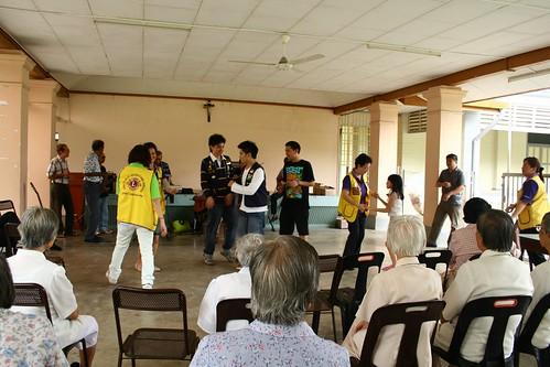 visit to elderly sisters of infant jessus home @ balik pulau