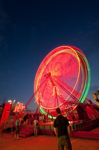 Ferris wheel at Höhenrausch, Linz