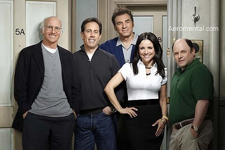 Larry David y Seinfeld