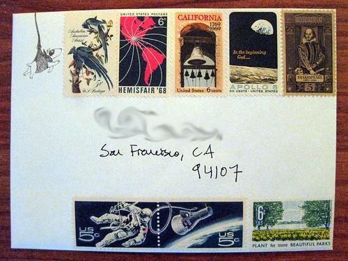 Vintage stamp jamboree