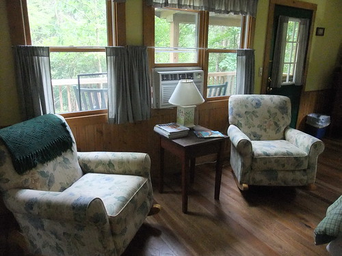 Sitting Area in the Cottage at the Inn at Cedar Falls