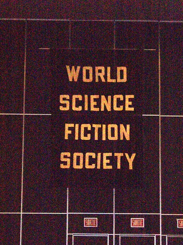 World Science Fiction Society Banner at WorldCon 2009.