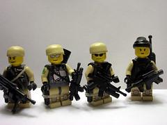 Fireteam 1 (Saint_Zvlkx) Tags: company alpha brickarms