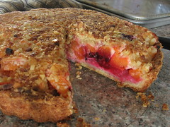 Apricot and Marzipan Tart
