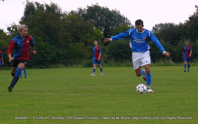 Cliffe FC Sunday vs Bubwith 16Aug09