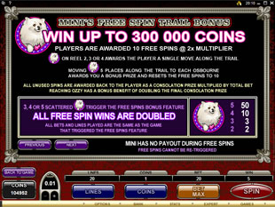 free The Osbournes slot mini symbol
