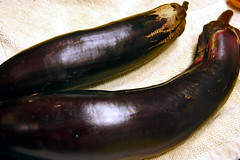 harvest 2 - eggplants