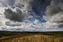Field of dreams (Ptur Gunn Photograpphy) Tags: blue sky nature field clouds photo iceland sony dreams alfa gras 1001nights 700 reykjavk petur gunn ptur himinn gunnarsson rvk