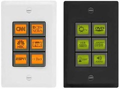 Waci Pad Dynamic Screen IP Wall Switches
