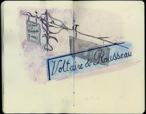 Voltaire & Rousseau