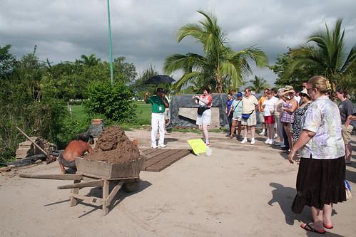 Mazatlan - Tourists at the Adobe Brickyard