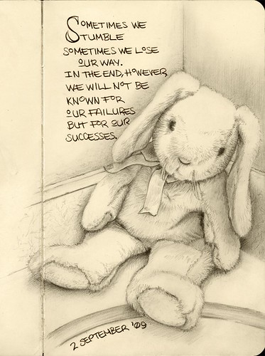 Bunny Doll Study - Step Four