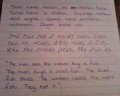 Lhenazi Script