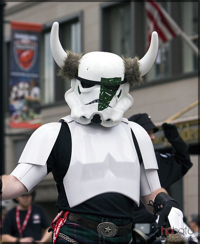 Horned Kilted Stormtrooper Dragoncon 2009 by DinanM3atl.