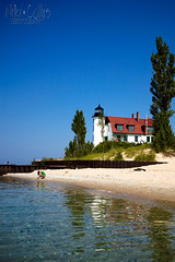 Point Betsie (luna.nik) Tags: vacation lighthouse beach sand michigan historic lakemichigan explore upnorth frankfort pointbetsie benziecounty pointauxbecscies