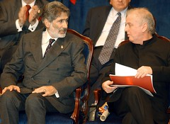Edward Said and Daniel Barenboim