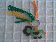 Passarinho (Atelier Maria Bonita) Tags: patchwork lembrancinhas chaveiros chaveirofeltro artesanatocuiab patchworkcuiab feltrocuiab