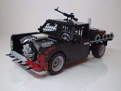 Post-Apoc Flatbed Truck