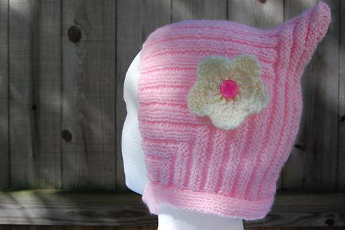 Pale Pink Stella Pixie Hat