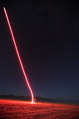 Angry Young Spool (jurvetson) Tags: night stars desert rocket aerotech launch redline mavericks bigdipper spool blackrock