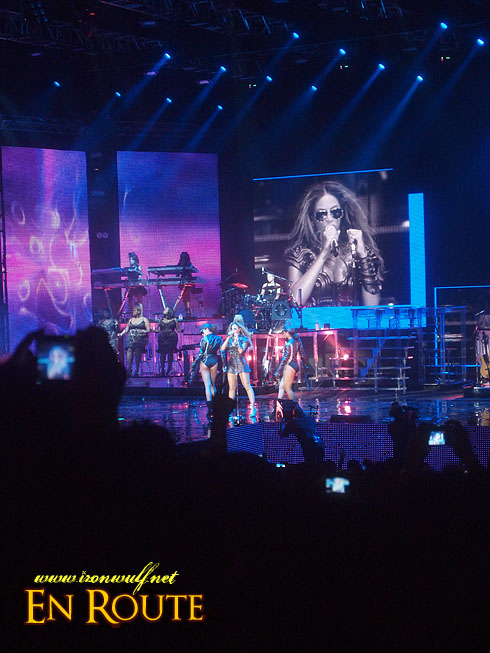F1 Rocks @ Singapore Beyonce