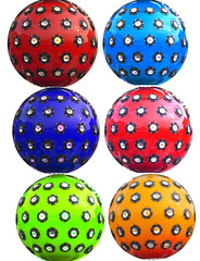 Kirmes (Marco Braun) Tags: germany deutschland sphere colourful coloured spheres allemagne 2009 farbig rostock bunt boule kugel hanse hansestadt mecklenburgvorpommern rostok
