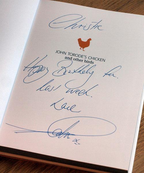 John Torode Signature