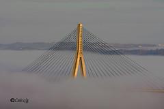 Entre algodones 3 (AYAMONTINO) Tags: puente internacional niebla guadiana ayamonte