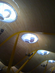 Ceiling (Alexanda Hulme) Tags: t4 madridbarajasinternationalairport