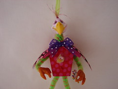 candylandbirds 004 (woopitydooart) Tags: holiday bird ornament candyland
