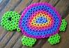 Perler Bead Colorful Turtle (Kid's Birthday Parties) Tags: beads rainbow colorful turtle beading kidscraft perlerbeads beadcraft turtlecraft rainbowturtle perlerbeadturtle
