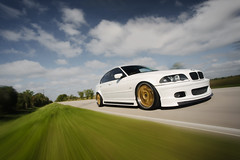 Alex's Alpine White E46 (Danh Phan) Tags: houston bmw canon5d e46 automotivephotography alpinewhite dfan rigshot automotiverigs