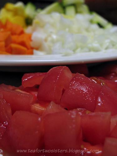 Tomato, closeup