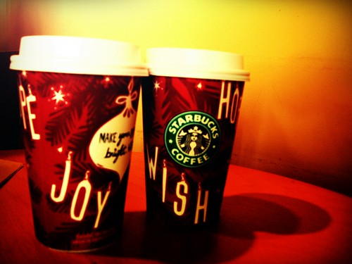 Halloween just ended, but the holiday cups are already out
