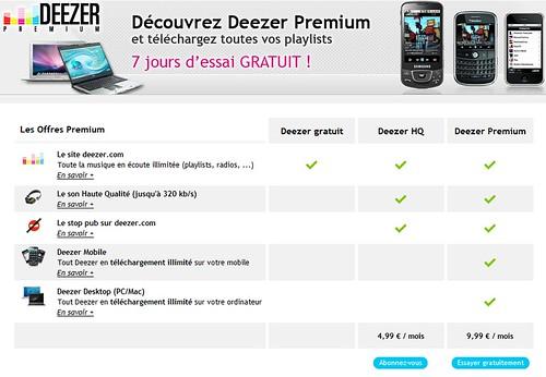 Deezer Premium HQ