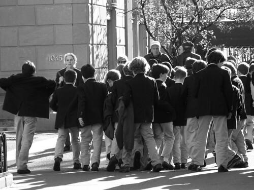 Prep school boys, UES
