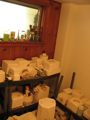 More of the ceramic/craft/crap room