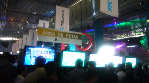 Area de Retas en Conexión Playstation