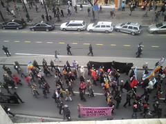 belgrade marching against facism