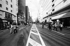 My Shadow (huzu1959) Tags: street film japan analog canon 400tx fd canonf1 gettyimagesjapan12q2