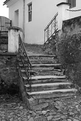 die Treppe im Burg Palanok