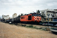 CP 1800 Class 1801 - Faro, Portugal (dwb photos) Tags: english portugal electric faro 1801