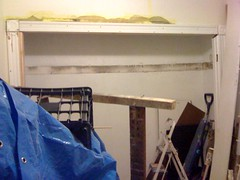 casing up, shelf down