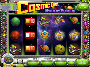free Cosmic Quest Episode Two slot free spins