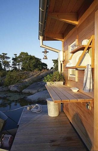 Swedish Boathouse