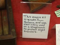 Vampire kit tag