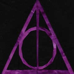 Batik Deathly Hallows Symbol